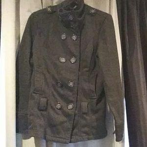 Paris Blues Buttoned Coat